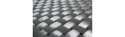 Skelné a uhlíkové tkaniny